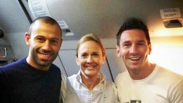 Messi y Mascherano terminaron sus vacaciones y vuelven al Barcelona