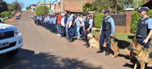 Recuperan elementos robados y detienen a varias personas en un amplio operativo policial en Oberá