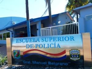 La Escuela Superior de Policía General Manuel Belgrano cumplirá 50 años de vida consolidado como instituto de formación en la región