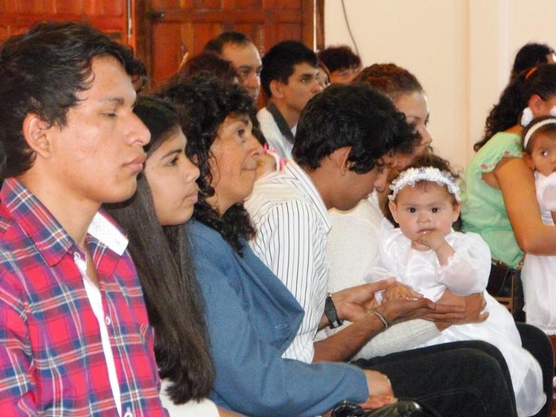 Con misas y bautismos cientos de fieles honraron a San Ramón Nonato