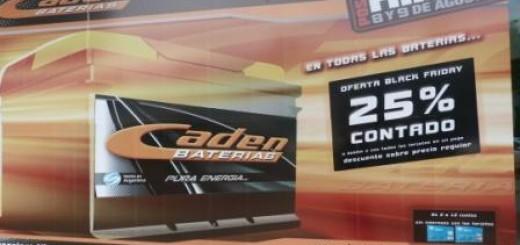 Black Friday: En Caden se puede cambiar la batería con un 25% de descuento