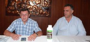 La empresa Worms presentó un novedoso alimento líquido para plantas en Misiones