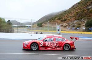 """Top Race: """"Rafa"""" no tuvo un buen sábado en Potrero de los Funes"""