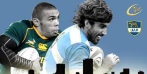 Championship 2104: Los Pumas pierden 10 a 3 con Sudáfrica en el final del primer tiempo