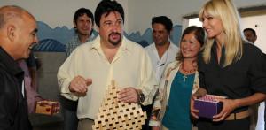 Karina Rabolini y el Gobernador Closs visitaron el Hogar de Día de Posadas