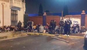 Final de la Libertadores: hinchas de San Lorenzo acampan para conseguir entradas