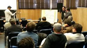 Se realizó un taller de evaluación de proyectos productivos en Cerro Azul