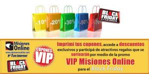 Descuentos súper especiales para lectores de Misiones Online durante el Black Friday