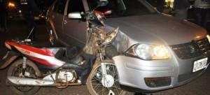 Un motociclista hospitalizado tras un accidente en Apóstoles