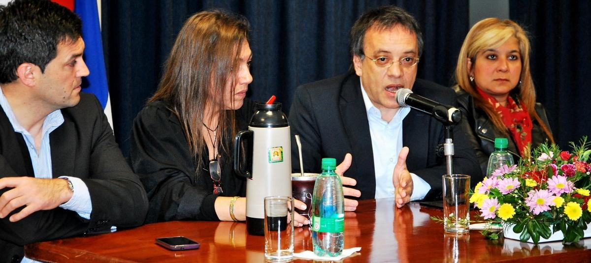 Especialista de la Secretaría de Derechos Humanos de la Nación expuso en el Parlamento misionero