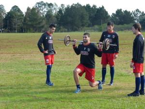 Guaraní empieza a preparar el partido contra Chicago