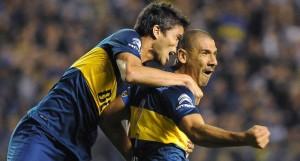 Boca le ganó 3 a 1a Vélez en el debut de Arruabarrena