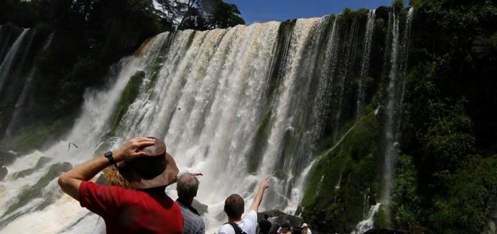 Cataratas del Iguazú recibió más turistas que el año pasado