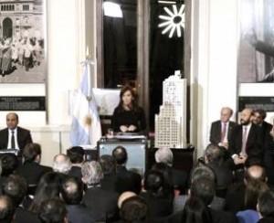 La Presidenta encabezará un acto en Casa de Gobierno