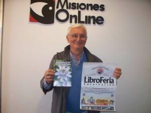 """Basilio Sawchuk presentará su libro de plantas medicinales en el """"LibroFeria"""" de Encarnación"""