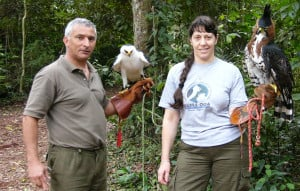 El centro de recuperación de animales Güirá Oga, un lugar para conocer la fauna autóctona