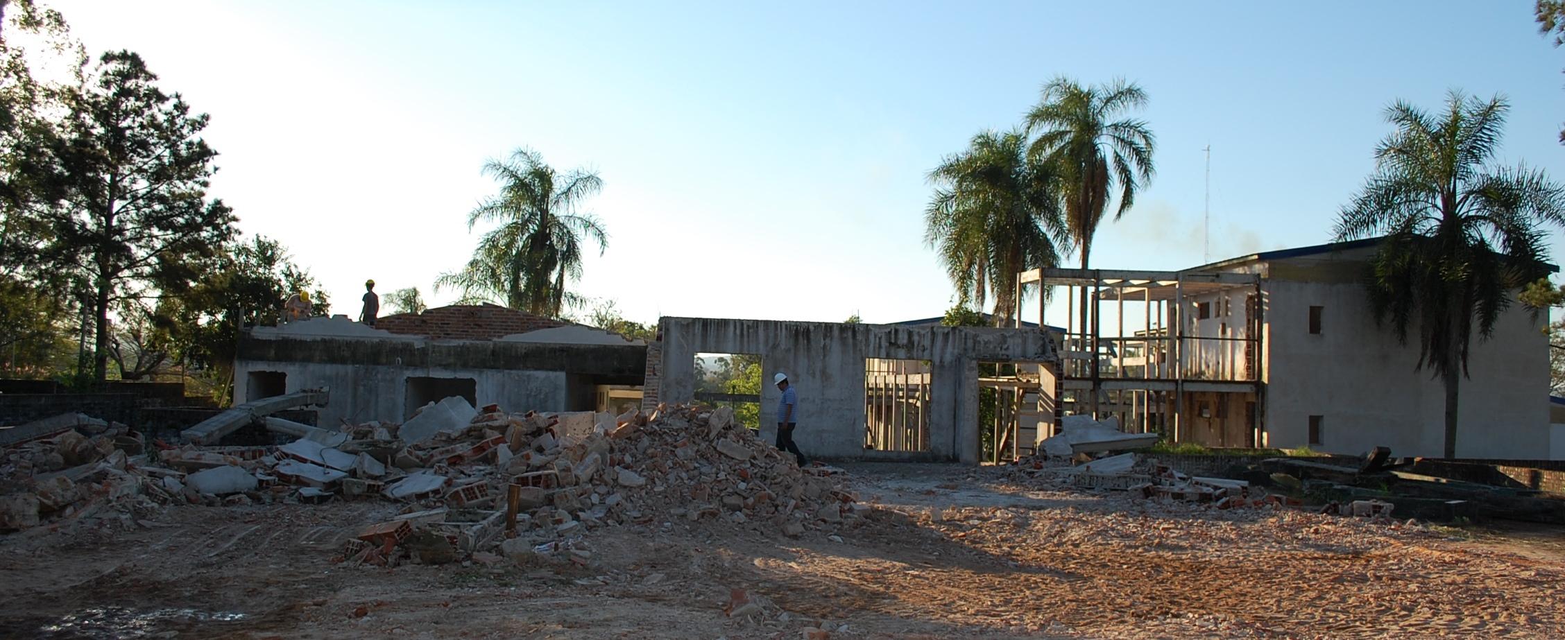 Arrancaron las obras para el nuevo casino hotel en San Javier