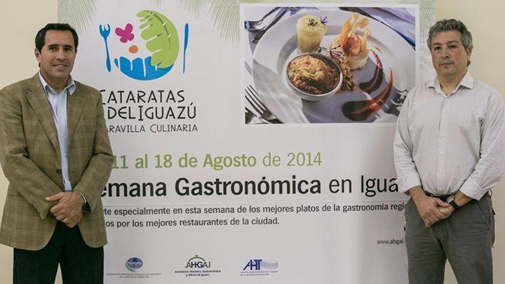 """Presentaron la II Edición de la Semana Gastronómica """"Cataratas del Iguazú, Maravilla Culinaria"""""""