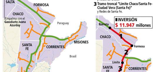Nación prepara licitación para extender gasoducto a Misiones