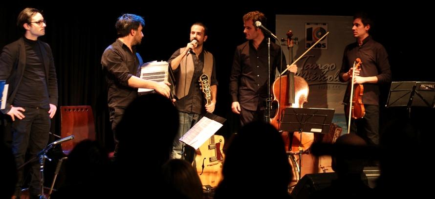 Danza-teatro y orquesta de tango en el Centro del Conocimiento