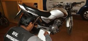 Recuperaron en candelaria una moto robada en Capioví