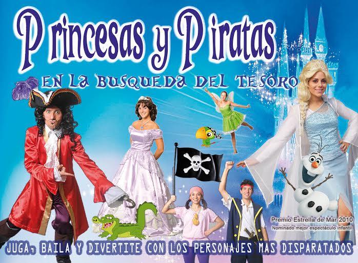Llegan las Princesas y los Piratas a Posadas