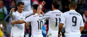 Real Madrid venció al Sevilla y se alzó con la Supercopa de Europa