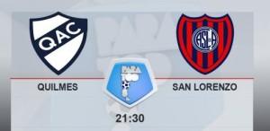 San Lorenzo y Quilmes se enfrentan el estadio Centenario
