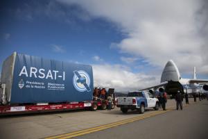 El satélite Arsat-1 fue enviado a Guayana Francesa para ser lanzado hacia el espacio