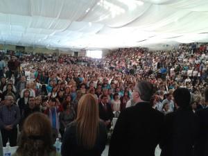 Con más de 7 mil asistentes terminó primera jornada de congreso de la UDPM en Montecarlo