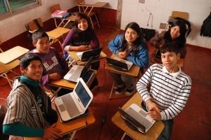 Viven en la aldea Tamanduá, pero a través de la educación secundaria virtual son alumnos del CEP4 de Posadas