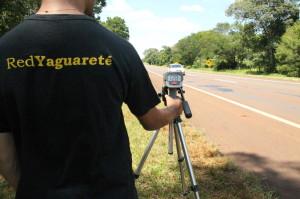 Con radares, la Red Yaguareté demostró que el 96% de los vehículos viola la velocidad máxima en la ruta 12