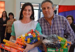 Se entregaron ludotecas en Leandro N. Alem