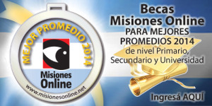 """Misiones Online convoca a estudiantes a participar del concurso """"Mejor Promedio"""" que premiará con becas de hasta 15 mil pesos"""