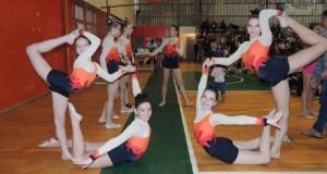 En el provincial de gimnasia rítmica de Puerto Rico se destacaron las obereñas
