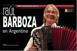 Raúl Barboza se presentará mañana en el Montoya