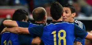 Argentina goleó 4 a 2 a Alemania, con tantos de Agüero, Lamela, Fernández y Di María