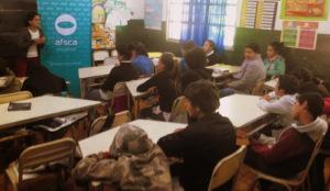 AFSCA en Aristóbulo: alumnos de Escuela 770 comunican a través de una radio mural