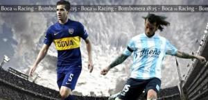 Boca le ganaba a Racing el clásico pero la lluvia obligó a suspender