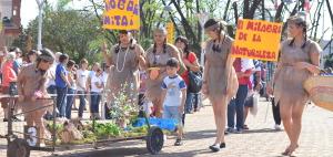 Con sus carrocitas los jardines de infantes de Oberá homenajearon a los orígenes de la tierra