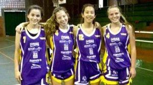 Básquet femenino: las chicas del U-16 del Coatí disputarán el Nacional de los Juegos Evita