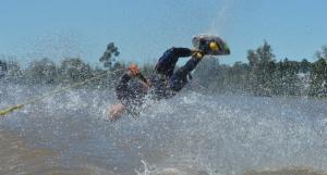 Esquí Náutico: El equipo argentino se deleitó  en el Lago Apóstoles