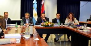 Los ministros de Coordinación de Gabinete y de Gobierno analizaron sus presupuestos para el próximo año