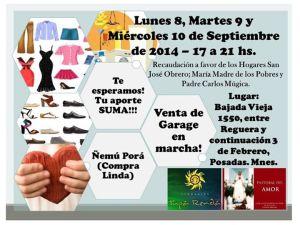 La fundación Tupá Rendá organiza una feria para recaudar fondos