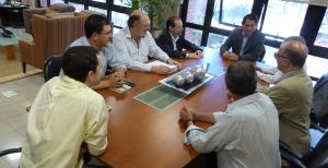 El intendente Franco se reunió con representantes de la Unión Europea por un programa de desarrollo local