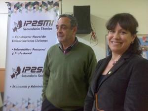 El IPESMI presentó dos orientaciones de Secundario Técnico: Constructor naval de Embarcaciones Livianas e Informática