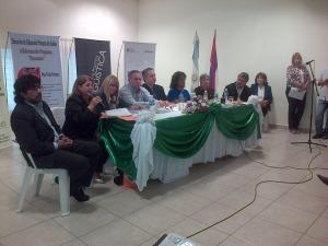 """Presentaron el Programa de Capacitación """"Bi-alfabetización Mbya Guaraní-Castellano sobre Organización Comunitaria para la Producción, la Salud y la Educación"""""""