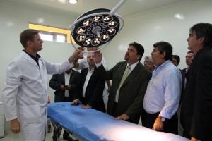 En el aniversario de Iguazú, Closs inauguró el cuarto hospital de alta complejidad de Misiones