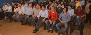 En Montecarlo inauguraron el remodelado tinglado comunitario del barrio Bonito