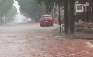 Cayeron 119,4 milímetros de lluvia en Posadas